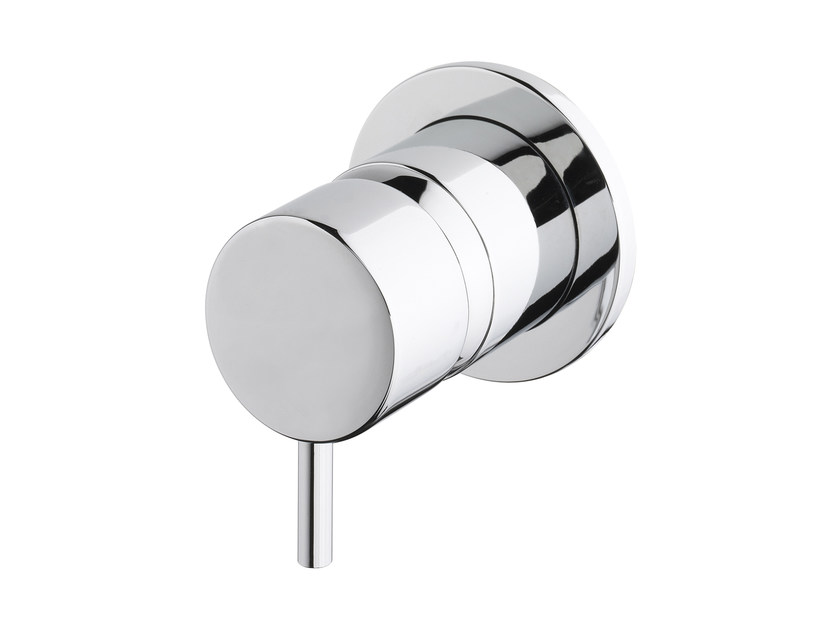 Wall-mounted bathtub/shower mixer FLOW T1.42 B by Water Evolution