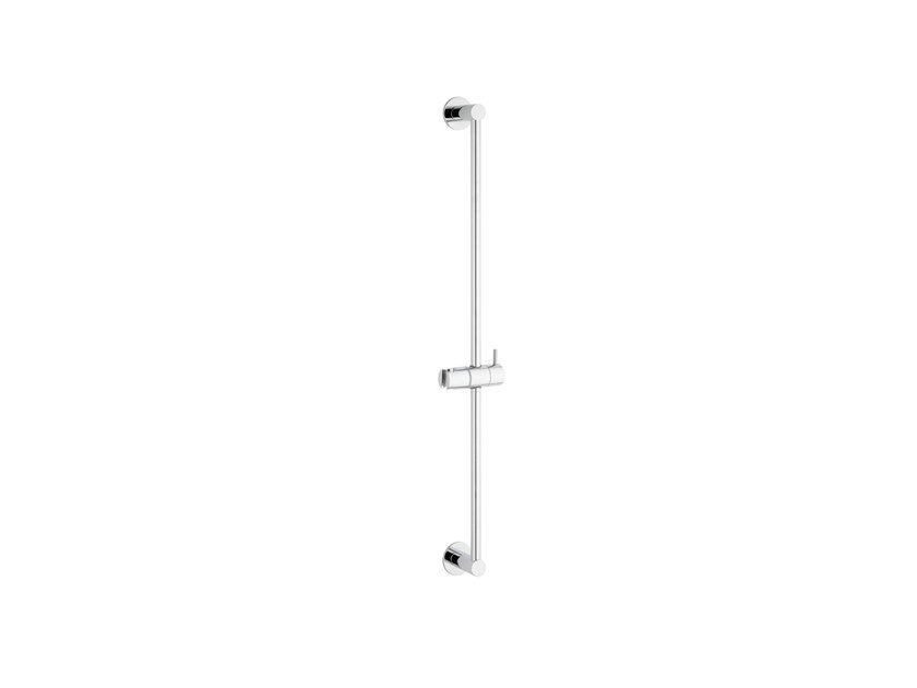 Chromed brass shower wallbar FLOW T1.660 | Shower wallbar by Water Evolution