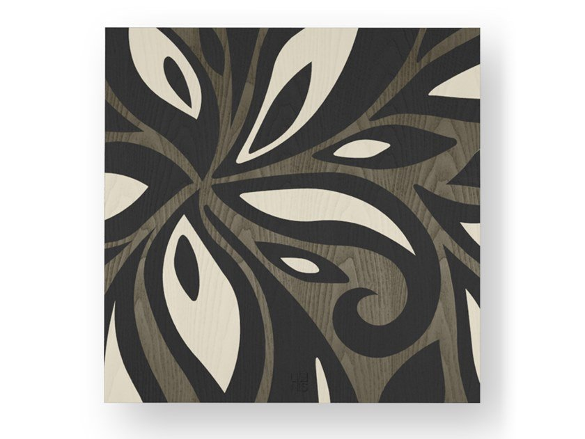 Quadro in legno intarsiato FLOWERS COLD by LIGNIS®