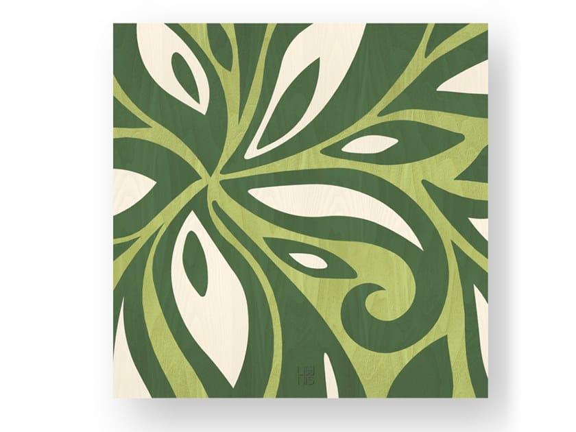 Quadro in legno intarsiato FLOWERS COLORS by LIGNIS®