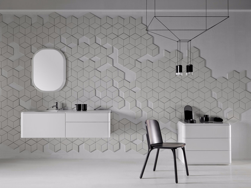 Bathroom furniture set FLUENT | Bathroom furniture set by INBANI