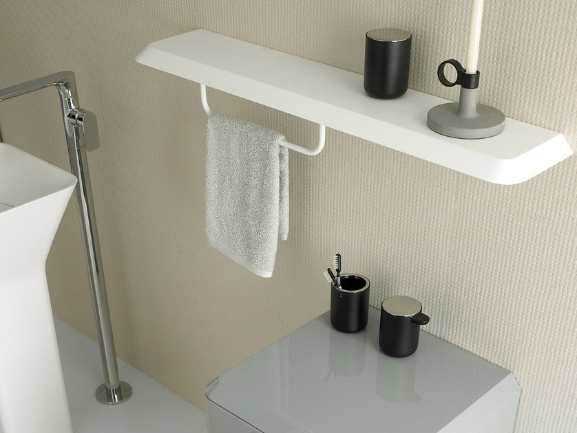 FLUENT | Bathroom wall shelf By INBANI design Arik Levy