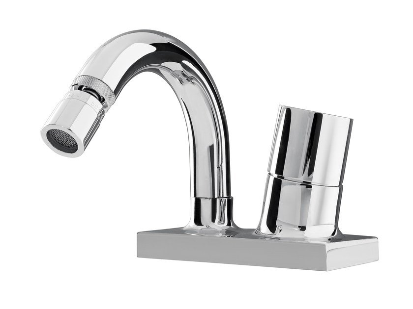 Chromed brass bidet mixer FLUID F3852 | Bidet mixer by FIMA Carlo Frattini