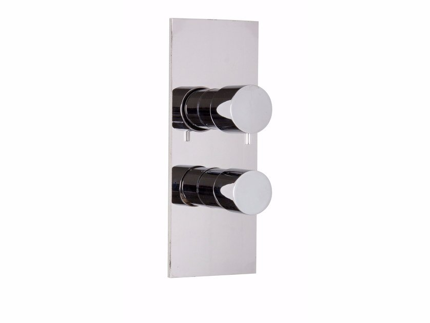 Wall-mounted chromed brass remote control tap FLUID F3859X6 | Remote control tap by FIMA Carlo Frattini