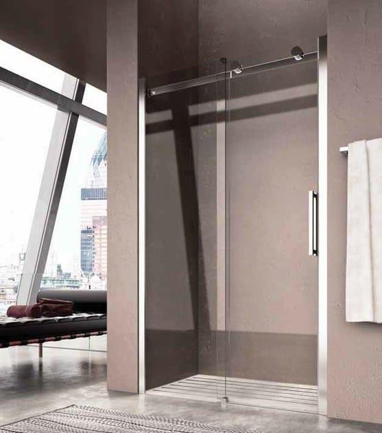 Niche shower cabin with sliding door FLUIDA FW by Glass1989