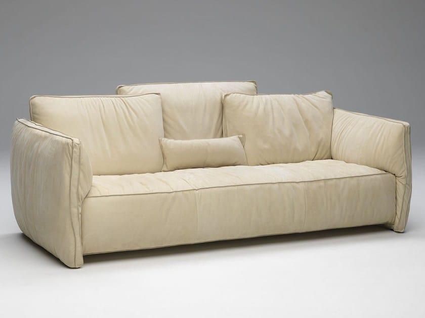 3 seater fabric sofa FLUON | Fabric sofa by Paolo Castelli