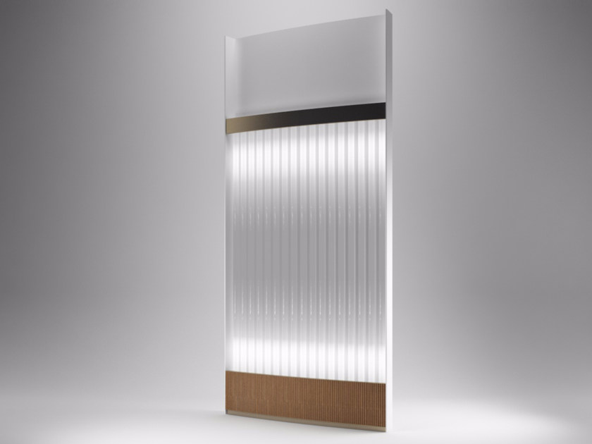 LED panel light FLY TUBE by Paolo Castelli