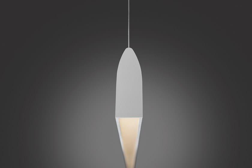 Sospensione A Con Flyup Led Lampada In Quadrifoglio Alluminio Dimmer Anodizzato 2E9IHD