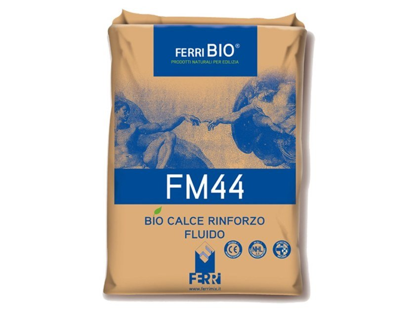 Mortar and grout for renovation FM44 by Ferrimix