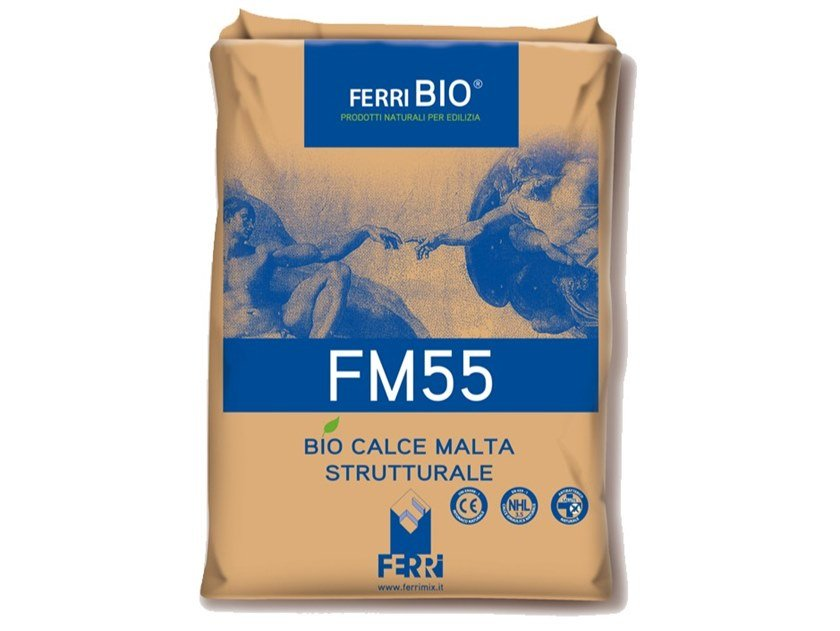 Mortar and grout for renovation FM55 by Ferrimix