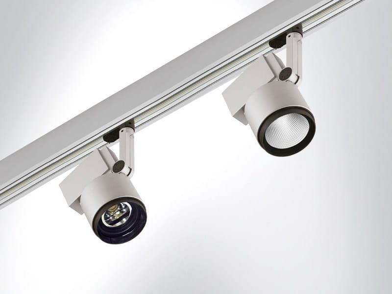 Adjustable spotlight FOBO 1 by Arcluce