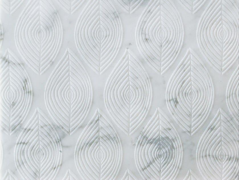 Marble wall/floor tiles FOGLIE CARRARA by TWS