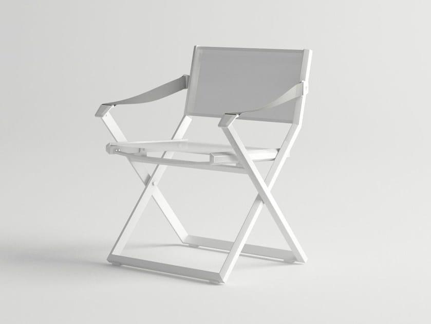 Folding garden chair VICTUS | Folding chair by 10Deka