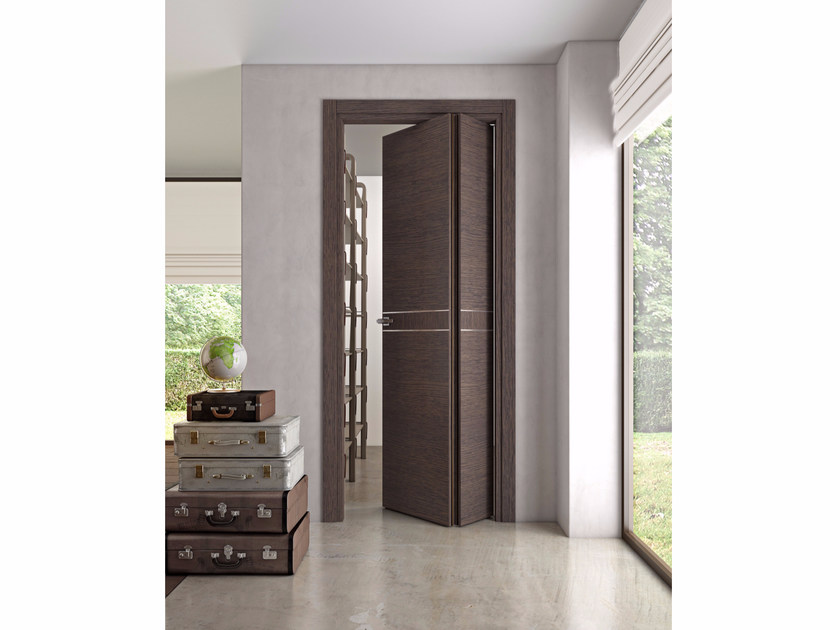 Folding wooden door DEMETRA | Folding door by Pail Serramenti