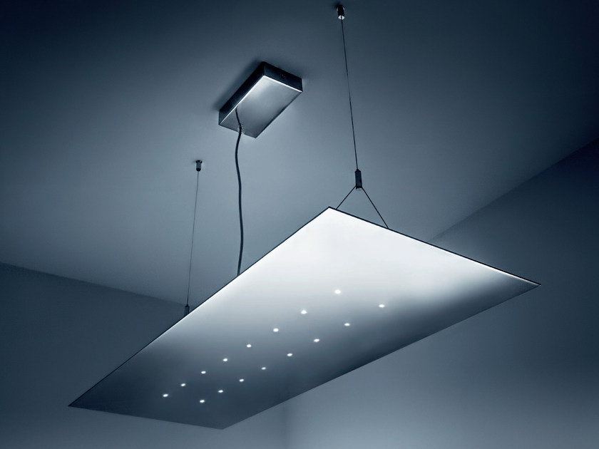 LED steel pendant lamp FOLIO | Pendant lamp by PLEXIFORM