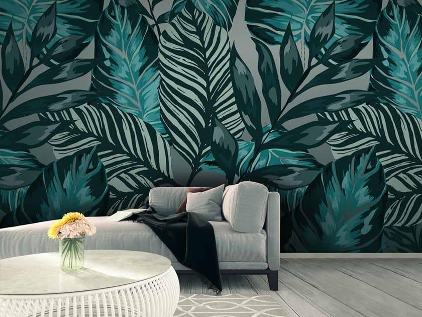 Digital printing Tropical wallpaper FOLIUM by LGD01