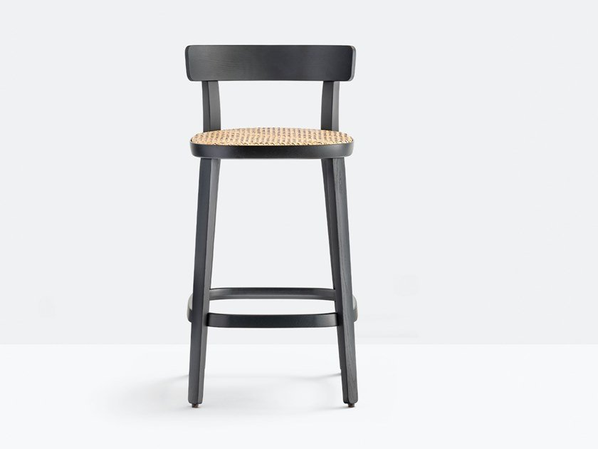 High ash stool FOLK 2926 by Pedrali