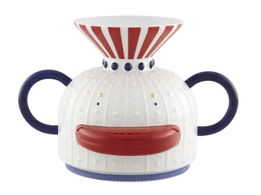 Porcelain vase FOLKIFUNKI - DUCK | Vase by Vista Alegre