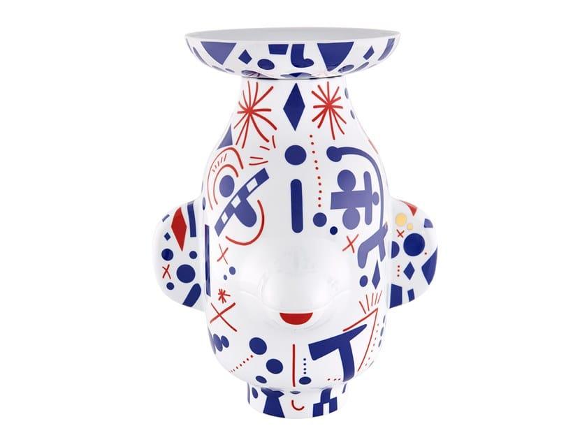 Porcelain vase FOLKIFUNKI - GRIMACE | Vase by Vista Alegre