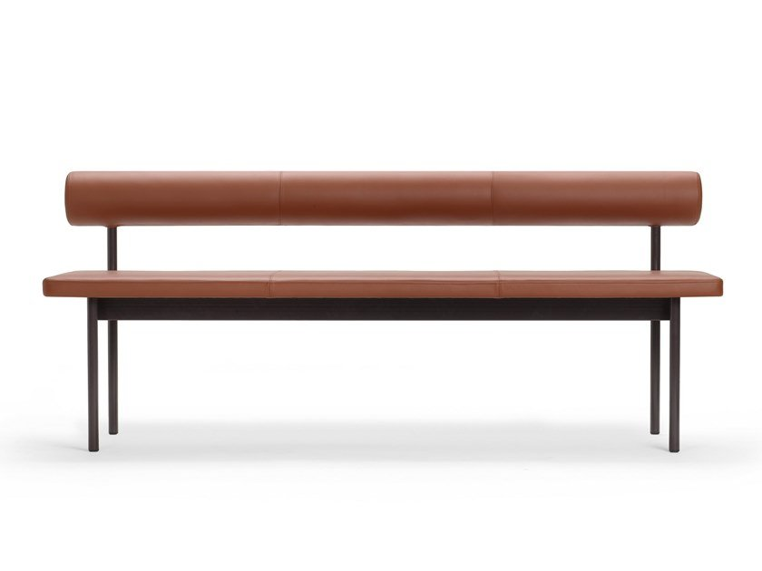 Leather sofa FONT by Offecct
