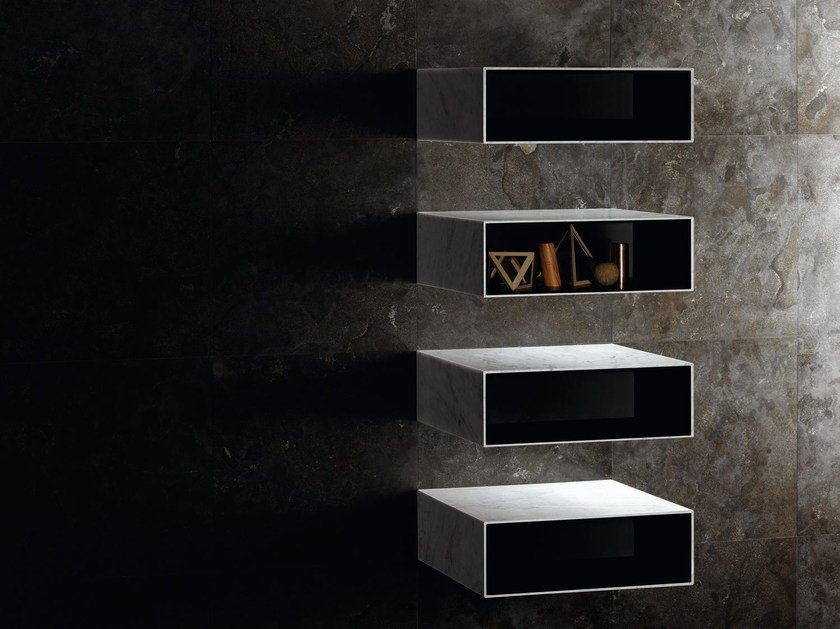 Natural stone wall shelf CIANE | Floating shelves by SALVATORI
