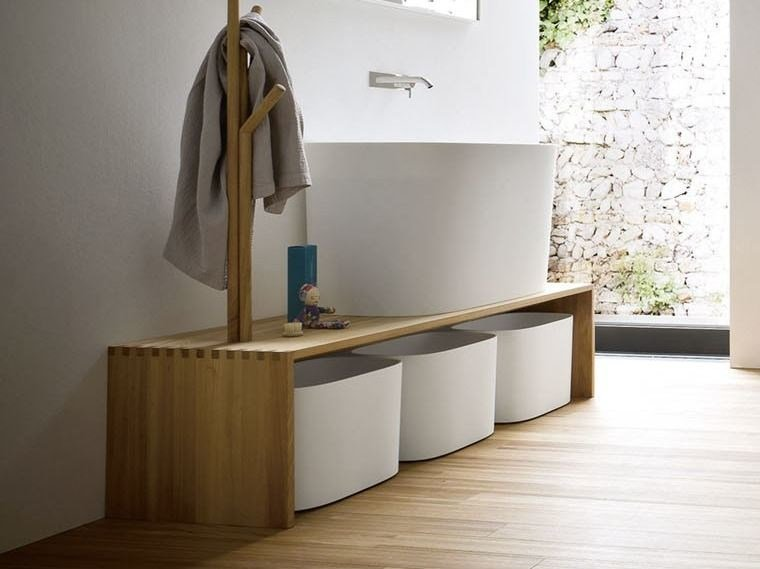 FONTE | Panca bagno Collezione Fonte By Rexa Design