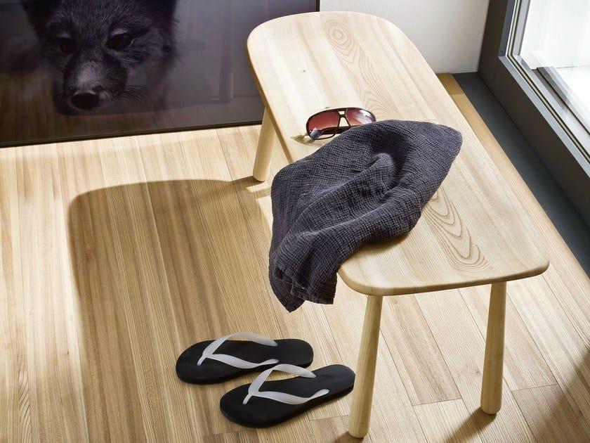 Ash bench for bathroom FONTE | Ash bench by Rexa Design