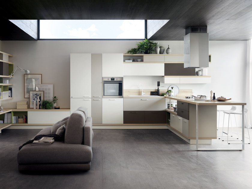 Fitted kitchen foodshelf scavolini line by scavolini for Scavolini prices