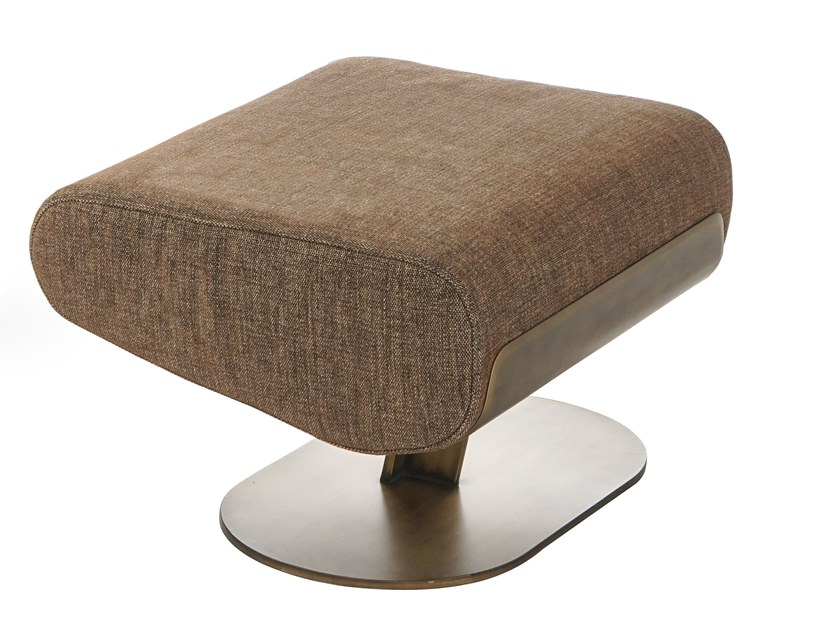 Fabric footstool TUNDRA | Footstool by ENNE