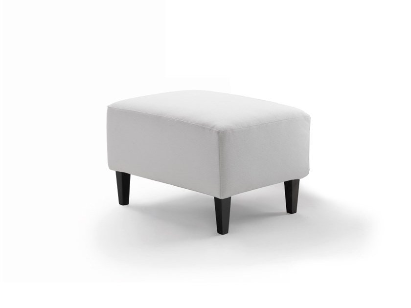Fabric footstool CLARA | Footstool by Marac