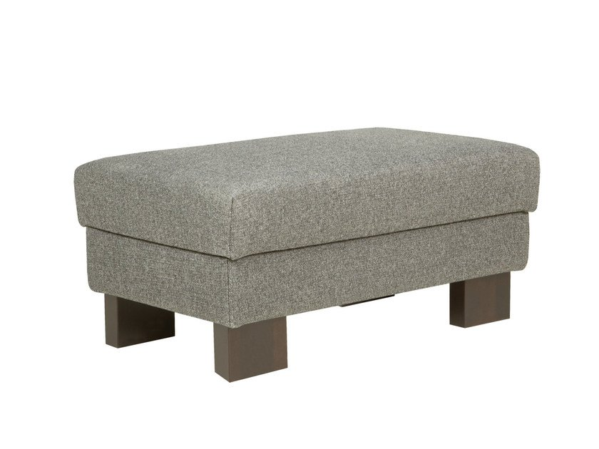 Fabric footstool QUATTRO | Footstool by SITS