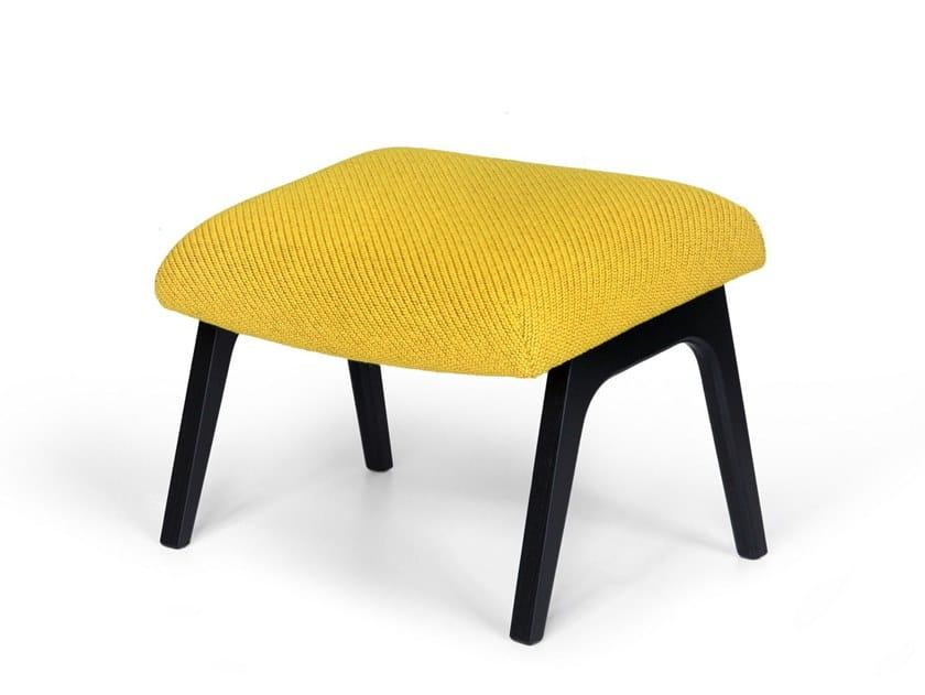 Fabric footstool NOA | Footstool by OOT OOT