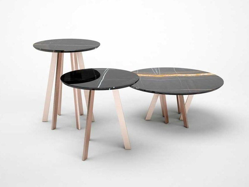 Round coffee table FOR HALL | Coffee table by Paolo Castelli