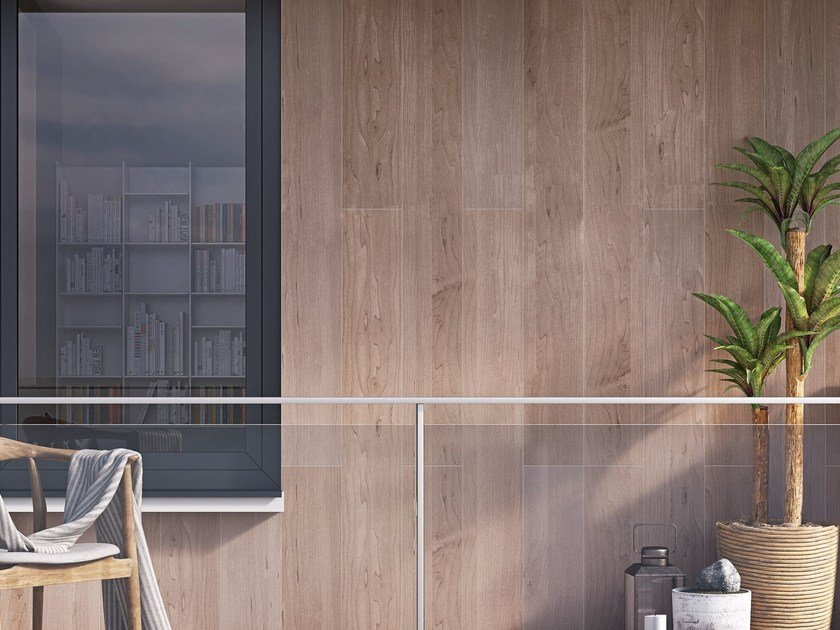 Ceramic wall tiles with wood effect FORD by Hönnun