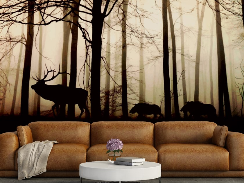 Landscape wallpaper FOREST by Wall LCA