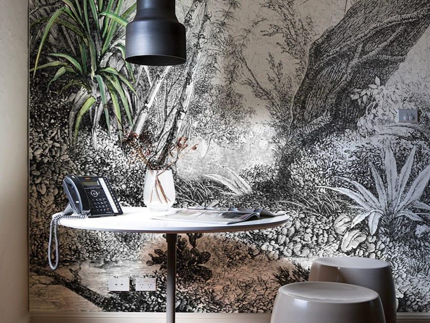 Carta da parati panoramica con motivi floreali FORESTA by Inkiostro Bianco