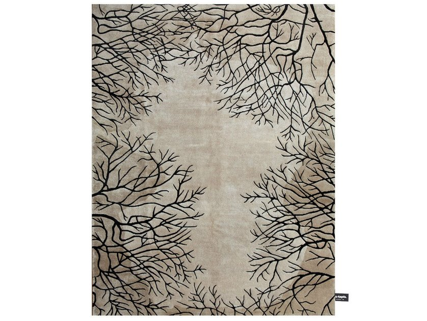 Handmade Custom Rug Foret New Classics Collection By Cc Tapis
