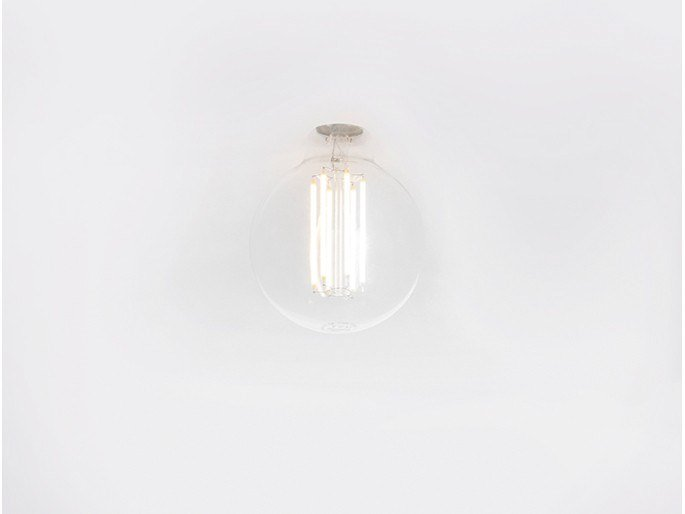 Lampada da soffitto a LED in vetro FOREVER 27 by Dark at night