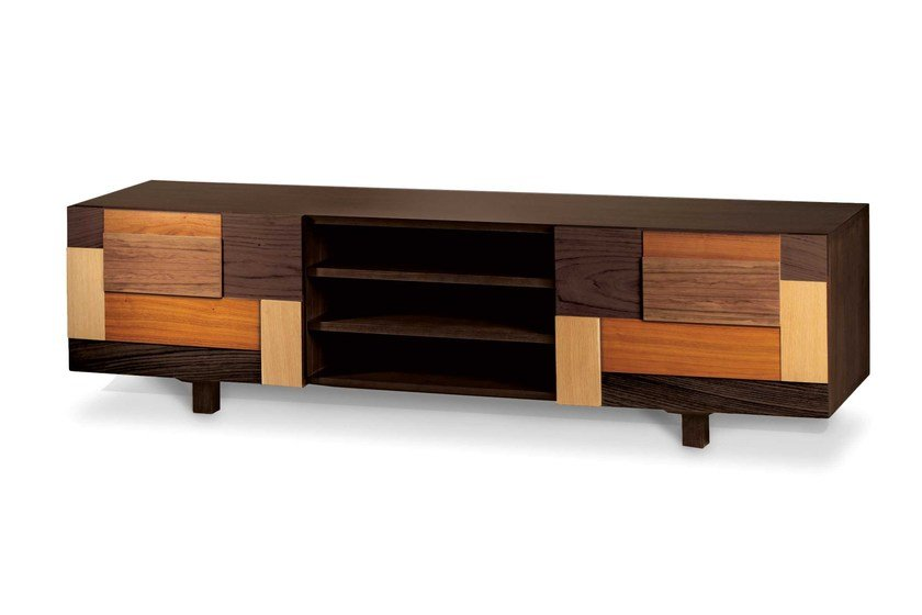 Wooden TV Cabinet FORM | TV Cabinet By Mambo Unlimited Ideas