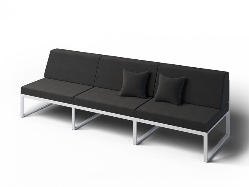 3 seater garden sofa FORMAL | Garden sofa by Laubo