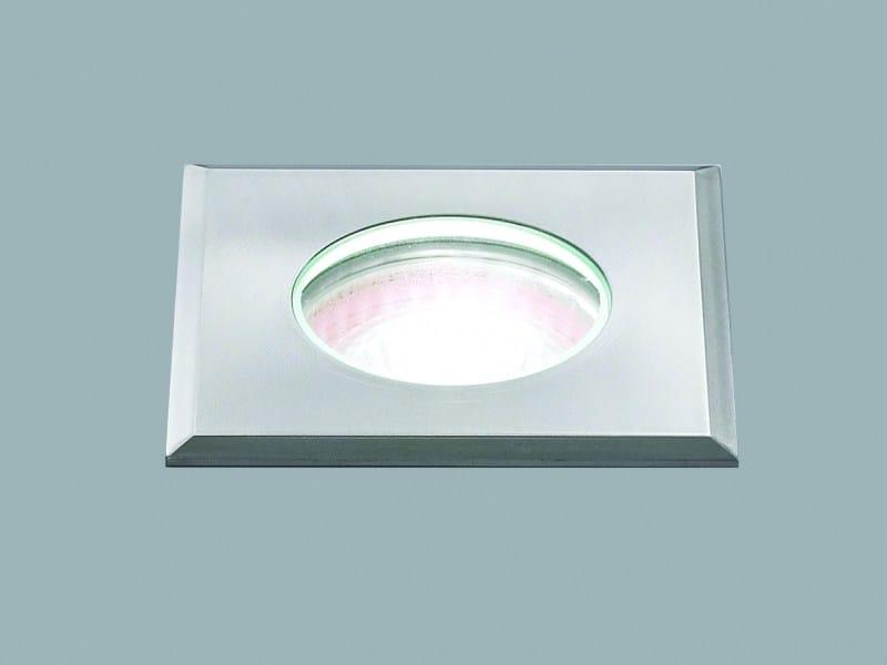 LED outdoor aluminium steplight FORMAT 12FQ by LUCIFERO'S