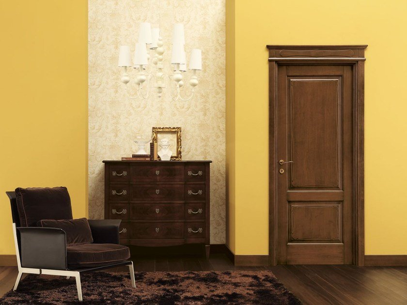 Solid wood door FORMELLE by LEGNOFORM