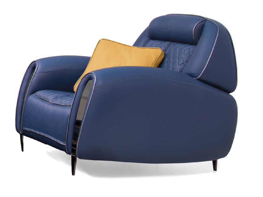 Deerskin armchair FORMENTERA | Armchair by Tonino Lamborghini Casa