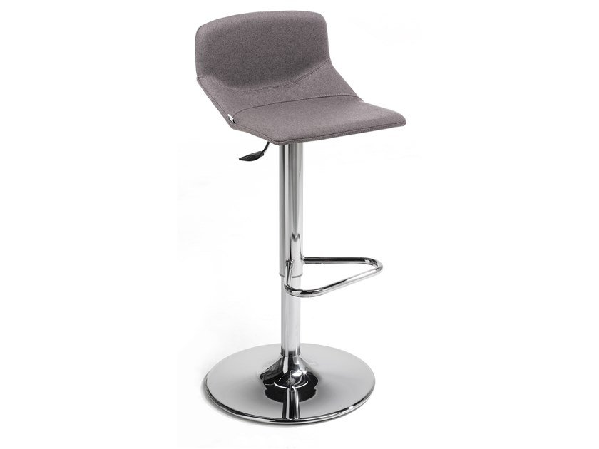 Contemporary style height-adjustable high stool with gas lift FORMULA SLIM ST-ADJ-E by Inday