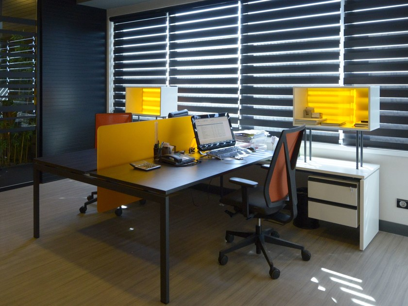 Multiple office workstation FORM-X | Office workstation by Tuna Ofis
