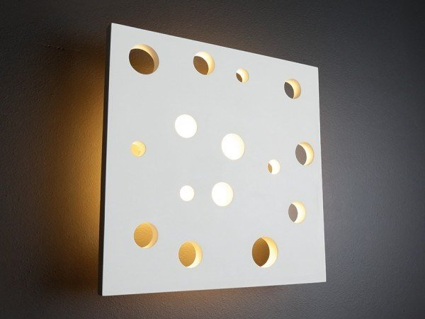 Plaster wall light FORO by GESSO