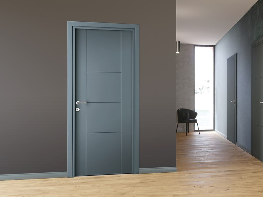 Hinged lacquered door FORTE by DIERRE