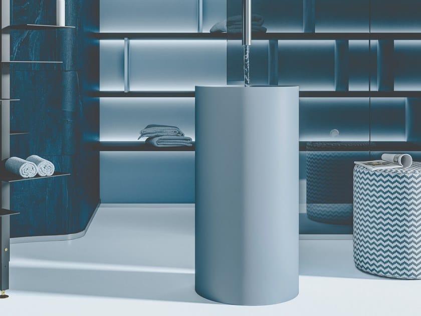 Lavabo freestanding rotondo in geacryl matt FOUNT 2 | Lavabo by MOBIL CRAB