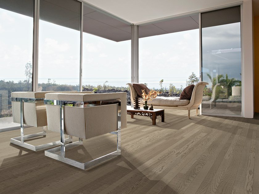 2 layers oak parquet FOUR EIGHTCOLOR by Unikolegno