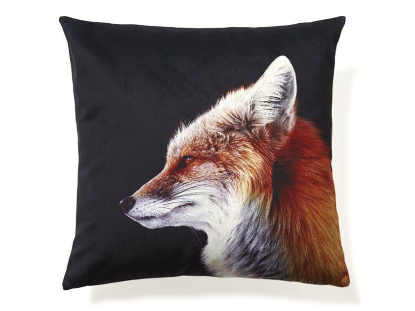 Square cushion FOX by Koziel